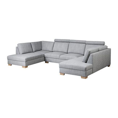 Sorvallen Sofa U Form Isunda Grau Ikea Wohnung In 2019