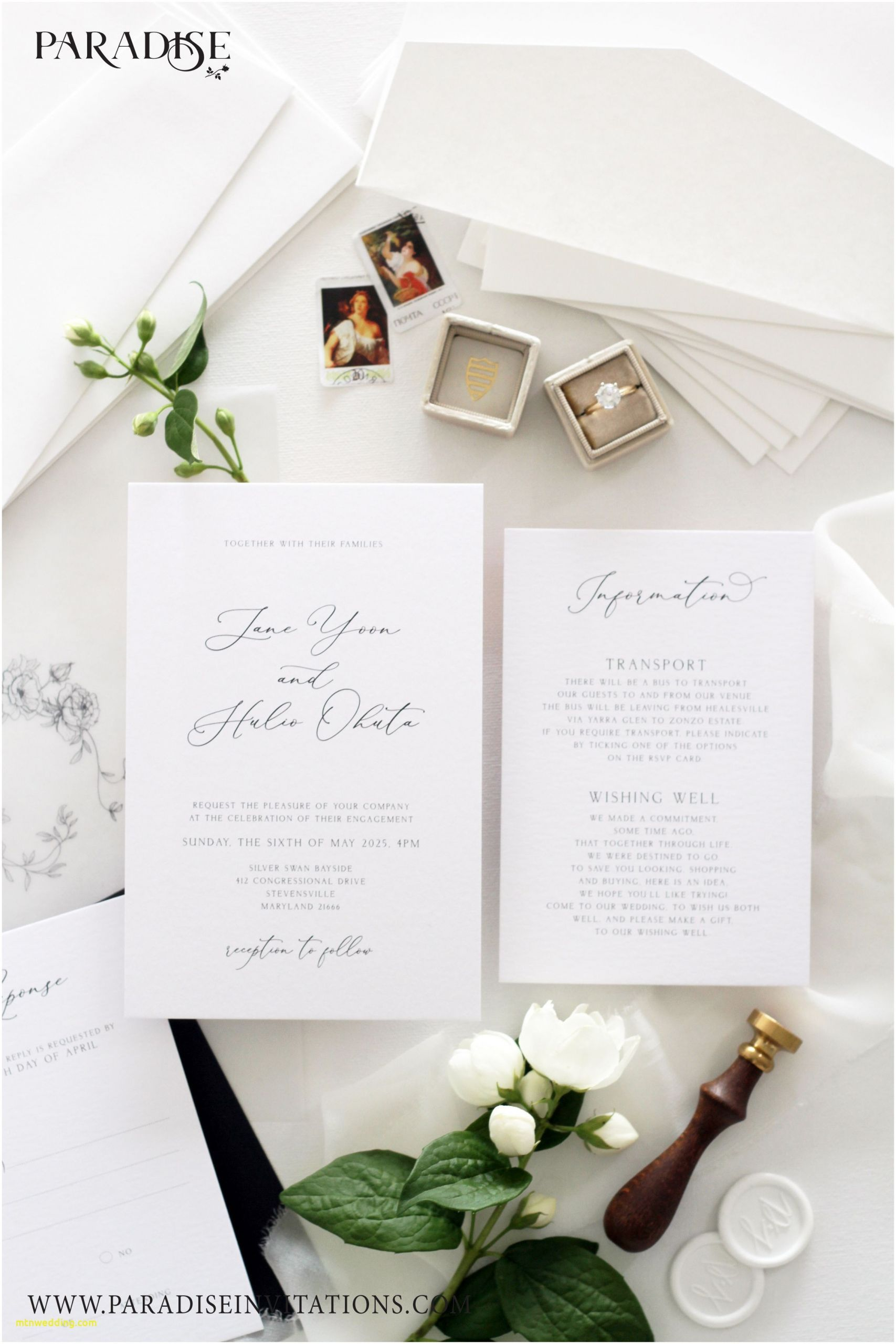 Nice Places To Make Wedding Invitations Near Me