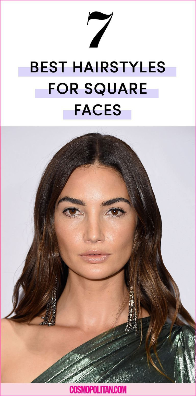 found: the 10 best hairstyles for square faces | hair
