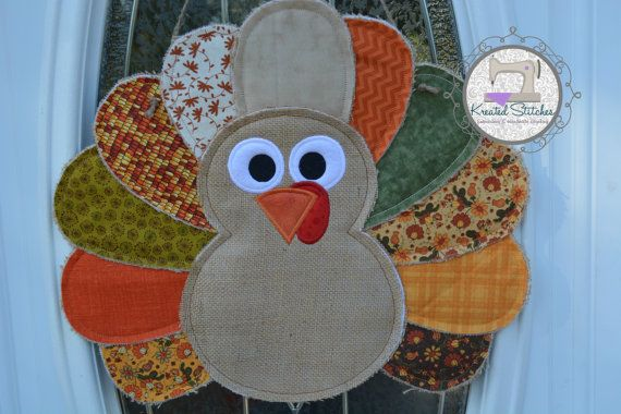 Hey, I found this really awesome Etsy listing at https://www.etsy.com/listing/209435484/burlap-turkey-door-hanger-thanksgiving