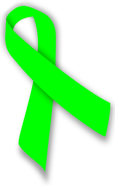 Awareness Ribbon Lime Green Non Hodgkin Lymphoma My Dad Has It