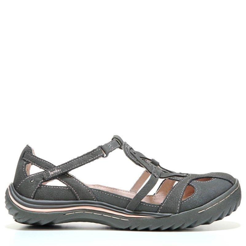 Jambu Women's Spain Slip On Shoes (Charcoal)