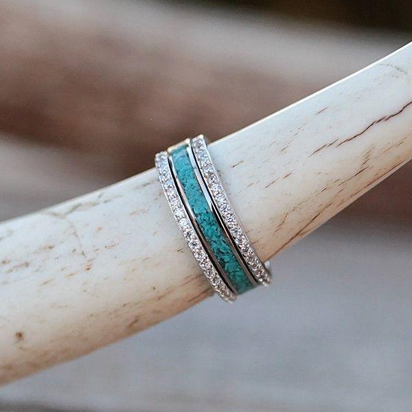 The Sierra Stacker Set Turquoise Jewelry Fine Jewelry Wedding Jewelry