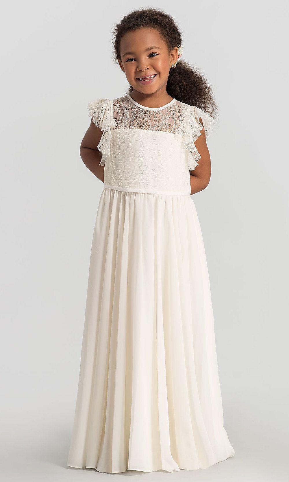 04cdd16b8ab La Petite by Hayley Paige Lillian Flower Girl Dress