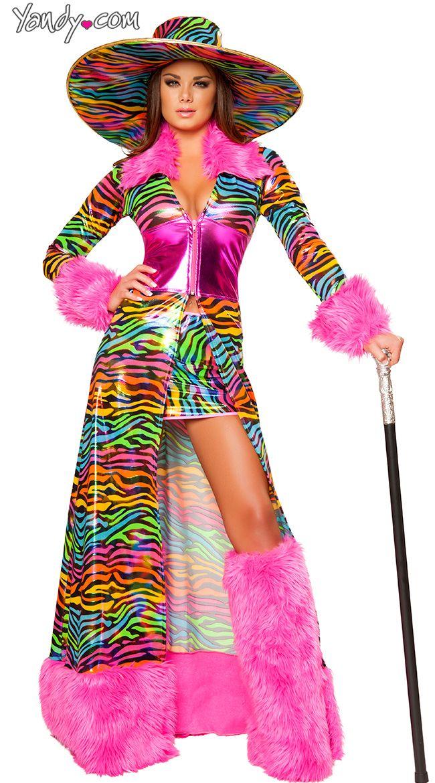 halloween costume adult sexy pimp