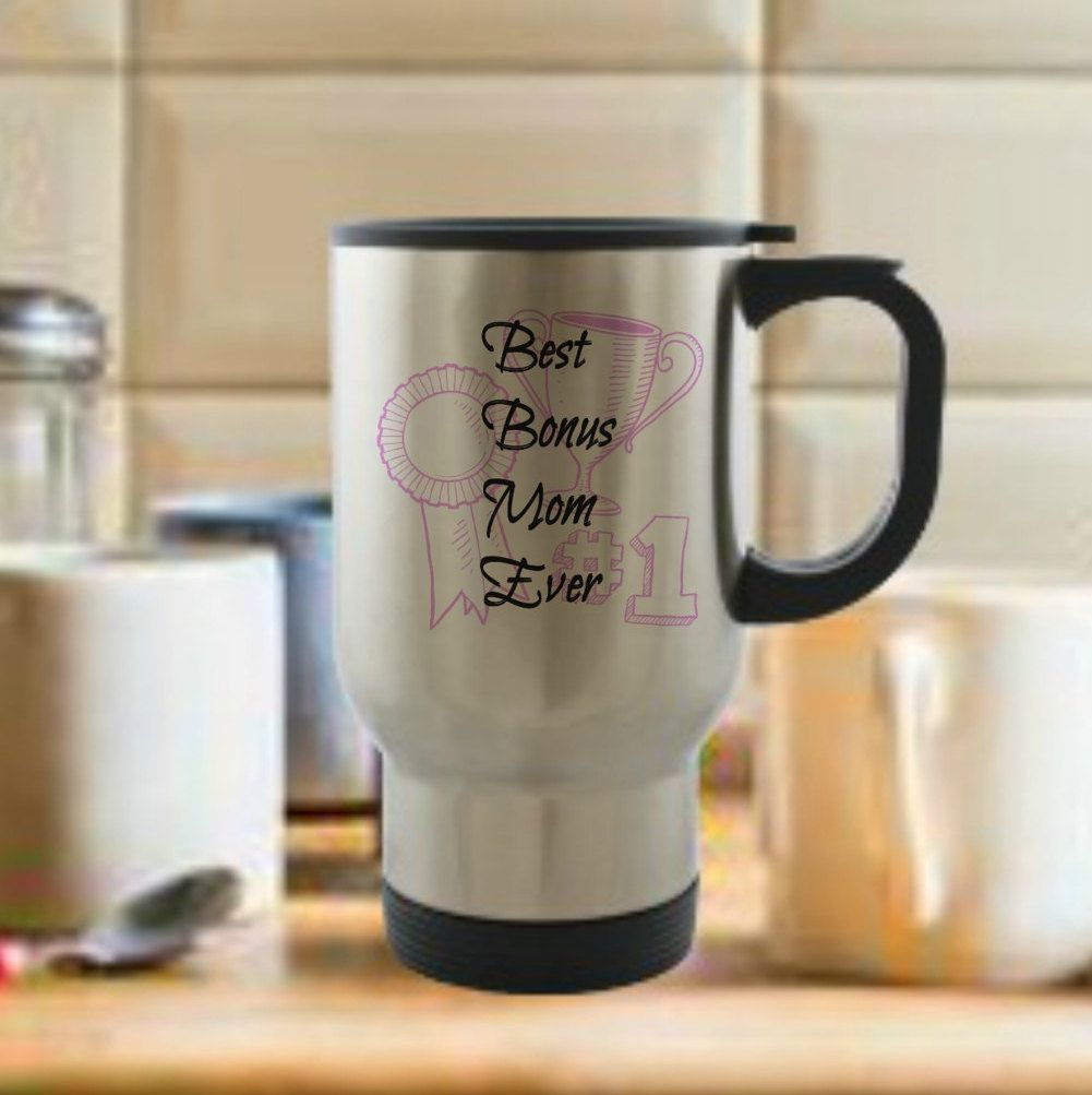 best bonus mom ever stainless steel travel mug gift idea for other