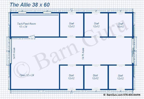 6 stall horse barn plans someday pinterest tack for 6 stall barn plans