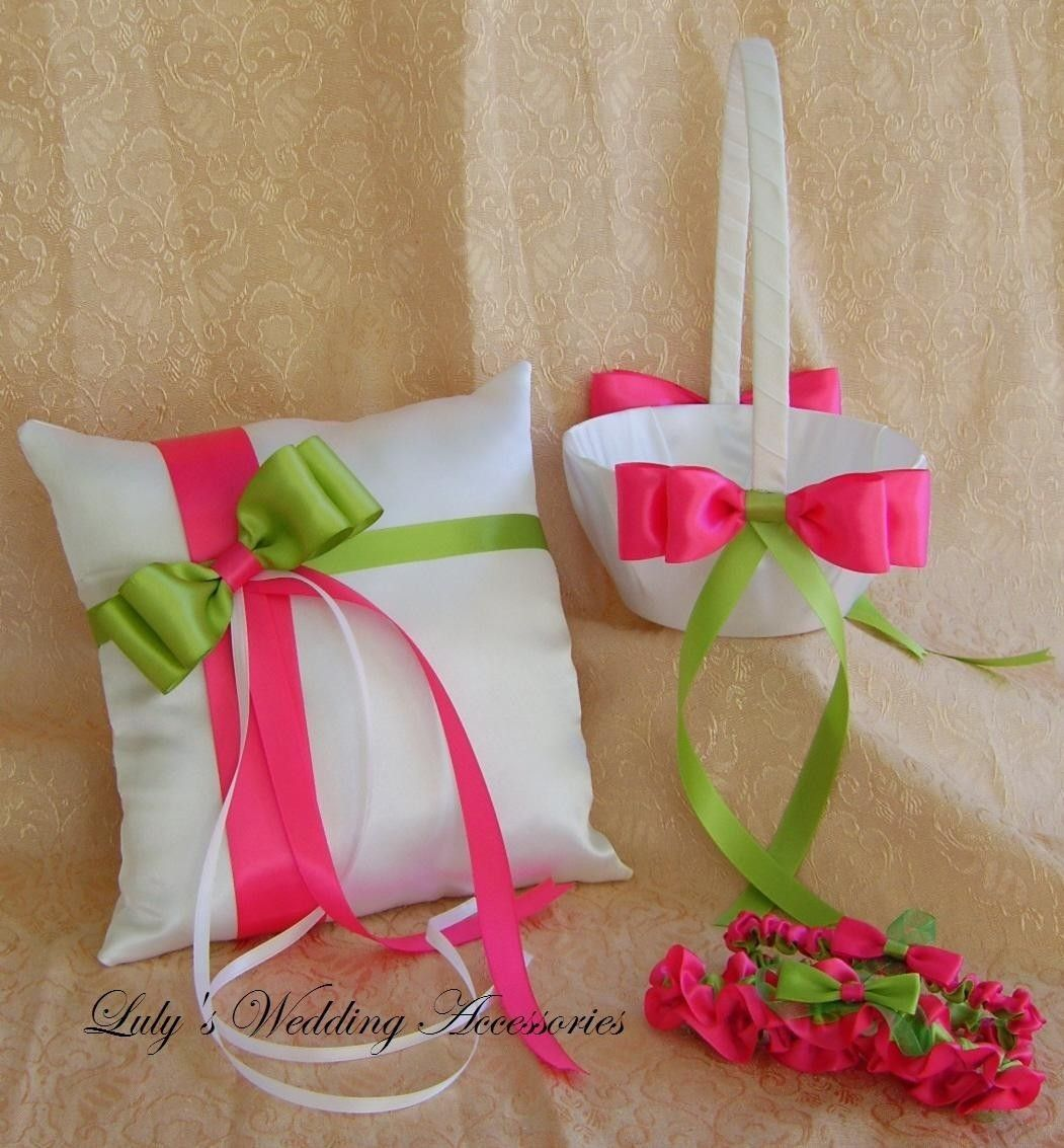 Hot Pink And Lime Green Wedding