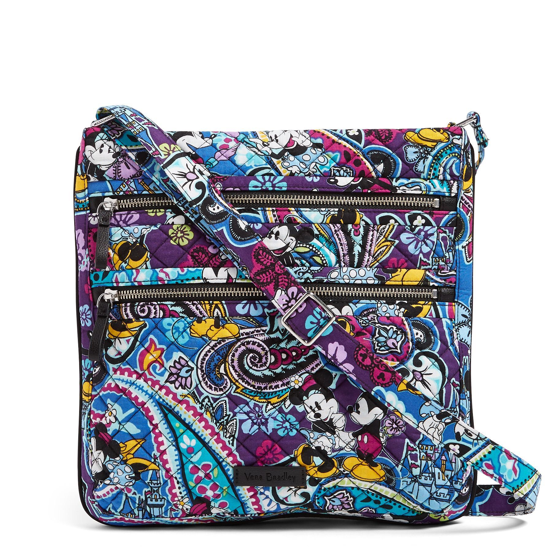 Explore The Features of The Vera Bradley Iconic Mailbag - YouTube
