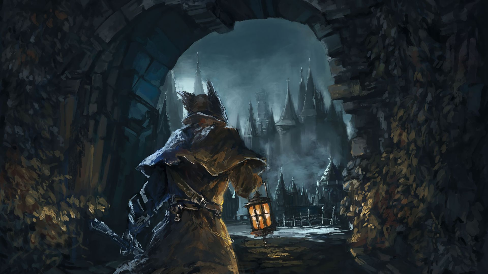 Video Game Bloodborne Wallpaper Bloodborne Bloodborne Art Digital Wallpaper