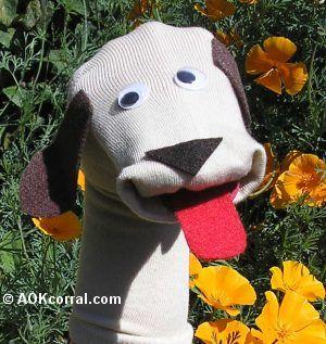 Dog Sock Puppet Looks Easy Enough Phoenix Loves Little