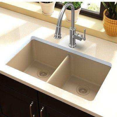 Charleston 30 L X 20 W Farmhouse Kitchen Sink With Basket