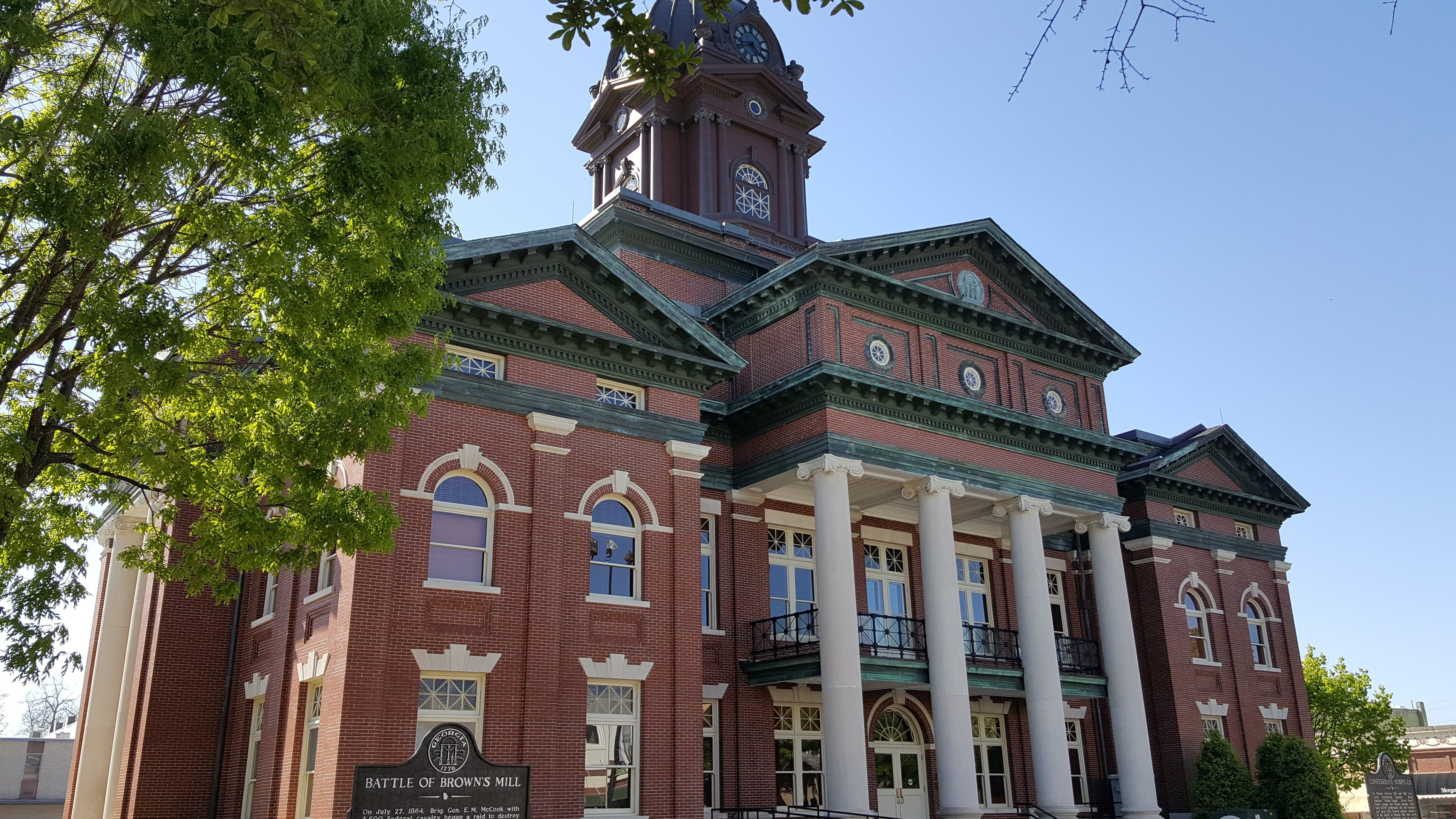 Coweta County Courthouse Newnan, Ga. The courthouse was