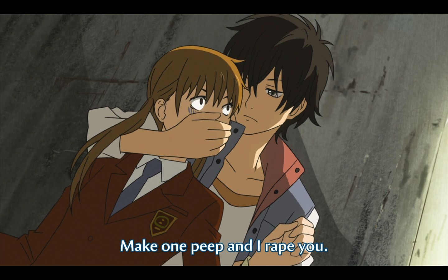 say one peep and i rape you - cerca con google | idk | pinterest | anime
