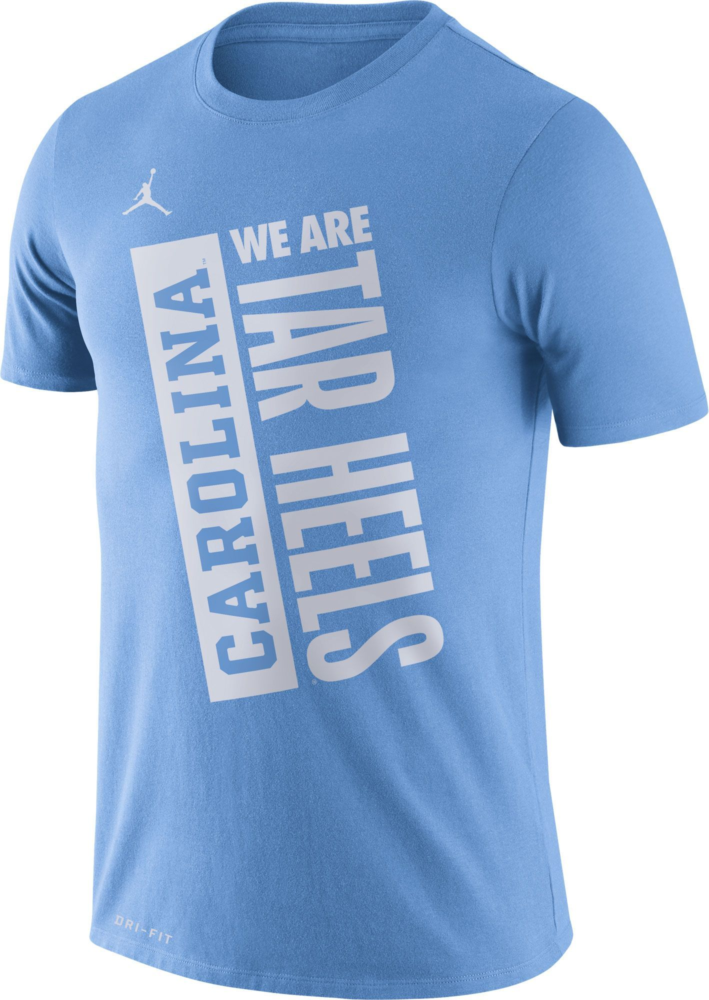 Jordan Men S North Carolina Tar Heels Carolina Blue Dri Fit