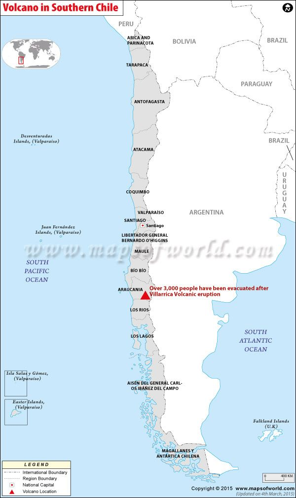 Pin by Mapsofworld on Maps in News   South pacific, Chile ...