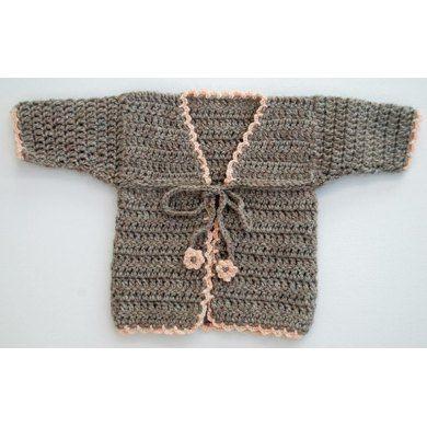 No-Sew Baby Cardigan Crochet Pattern Crochet pattern by Helen Ingram | Crochet Patterns | LoveCrochet