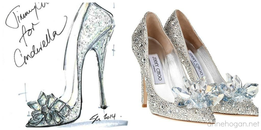 Famous Brand Jimmy Choo S Recreation Of Cinderella S Shoes Fairy