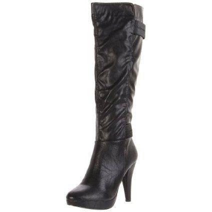 Gomax Women`s Fashion News-10 Knee-High Boot,Black,7 M US $63.99