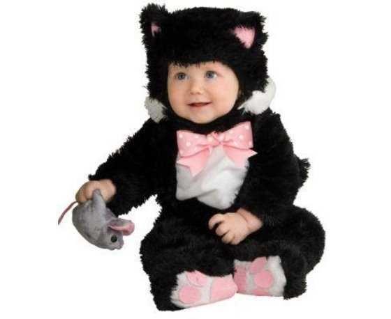disfraces para bebes halloween gatito