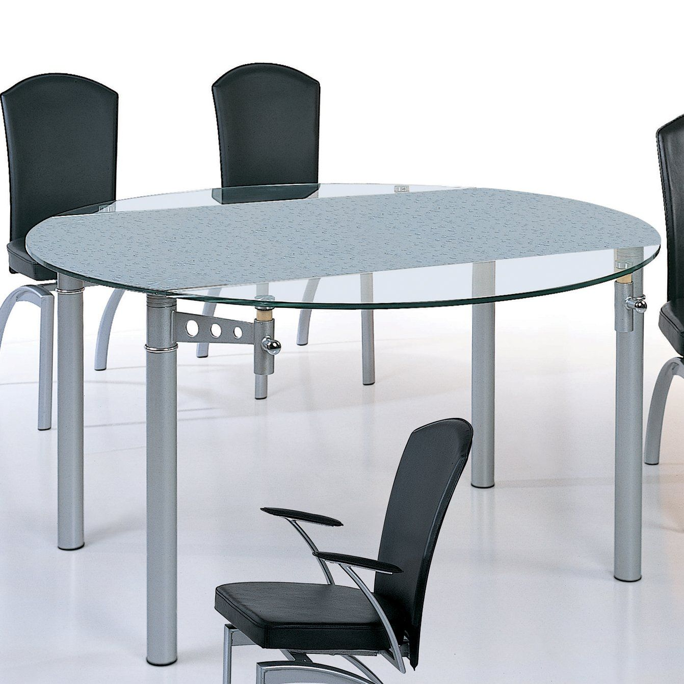 Raindrop Illusions Dining Table by Beverly Hills Furniture | Dining ...