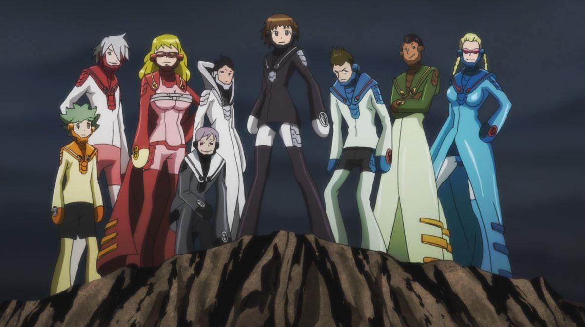 Kết quả hình ảnh cho Nobunagun anime