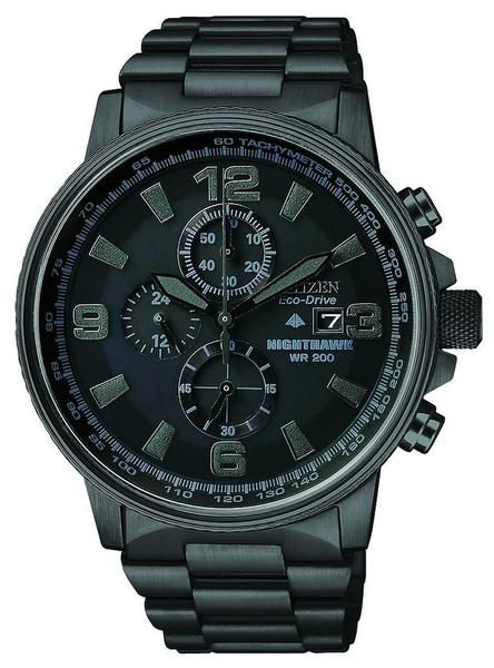 c6d33aa9f88 Citizen Eco-Drive Men s Nighthawk Chronograph Watch. This Eco-Drive watch  is powered by light