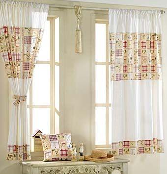 Комбинированные шторы для кухни своими руками