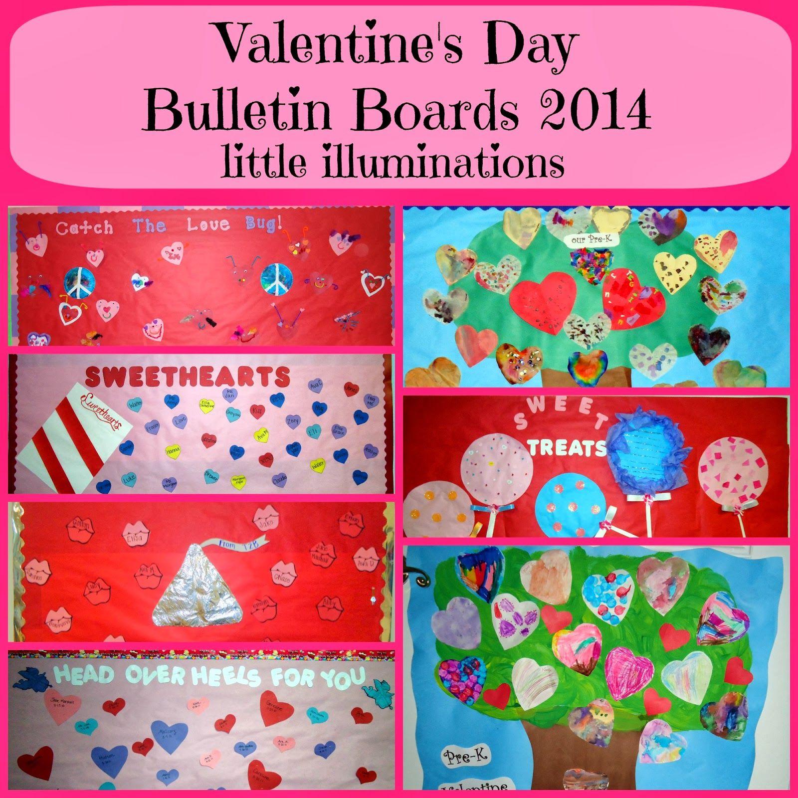 Little Illuminations: Valentineu0027s Day Bulletin Boards 2014