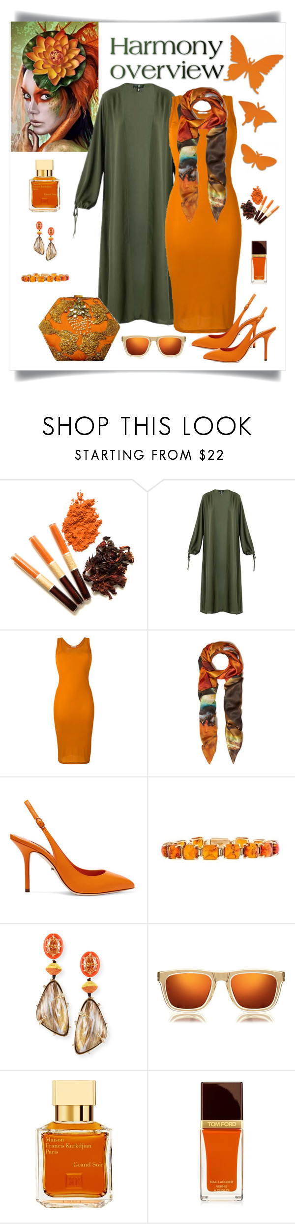 """""""Givenchy Midi Tank Dress Look"""" by romaboots-1 ❤ liked on Polyvore featuring Givenchy, Weston, Dolce&Gabbana, Alexis Bittar, Karen Walker, Maison Francis Kurkdjian and Tom Ford"""