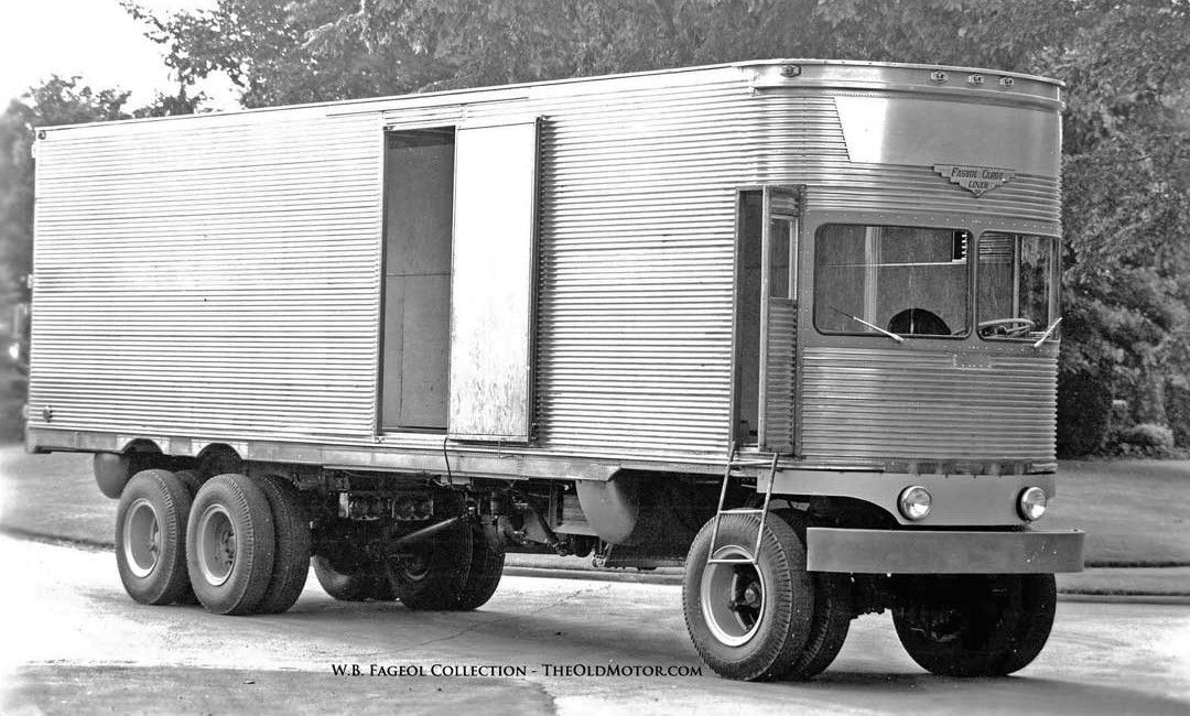 The Fageol 1950 Tc Cargoliner A Trailer Without A