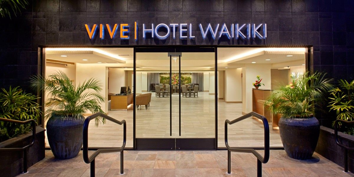 Vive Hotel Waikiki Honolulu Hi Waikiki Hotels Hawaii Hotels