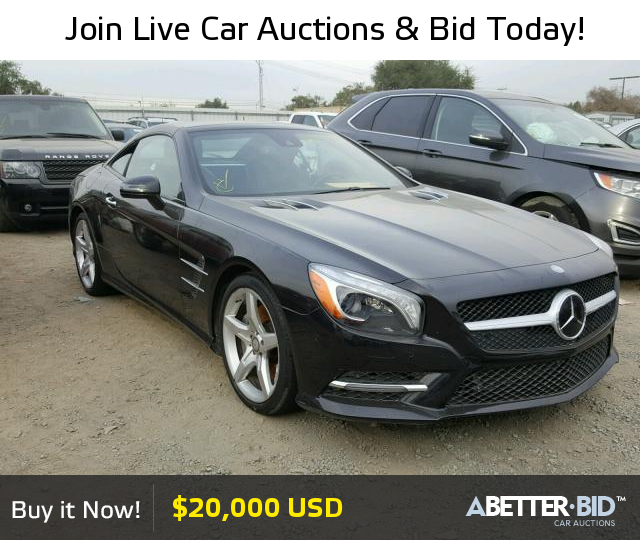 pin by a better bid car auctions on salvage exotic and luxury cars for sale mercedes benz. Black Bedroom Furniture Sets. Home Design Ideas