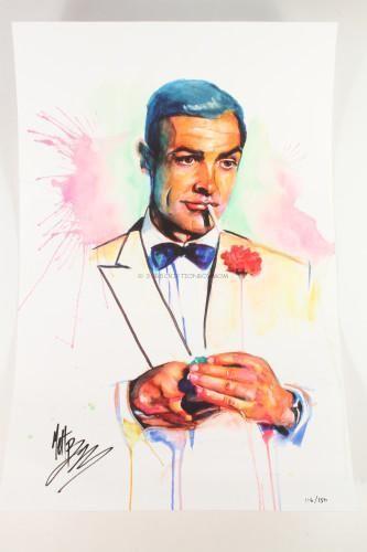 James Bond Fan Art by Matt Brooks