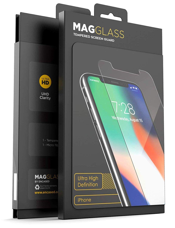 Magglass iphone xr full screen protector shatterproof