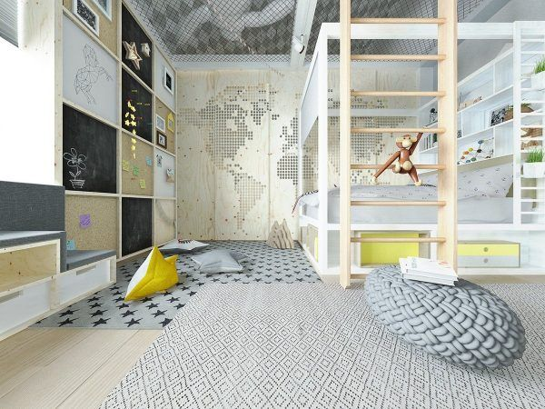 Inspiring modern bedrooms for kids colorful quirky and fun the internets best
