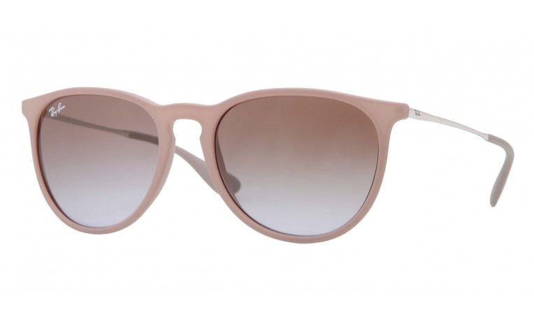 fb7bd0ad57d4d2 The Erika ray-bans I designed. Sand colour with light brown gradient lenses.