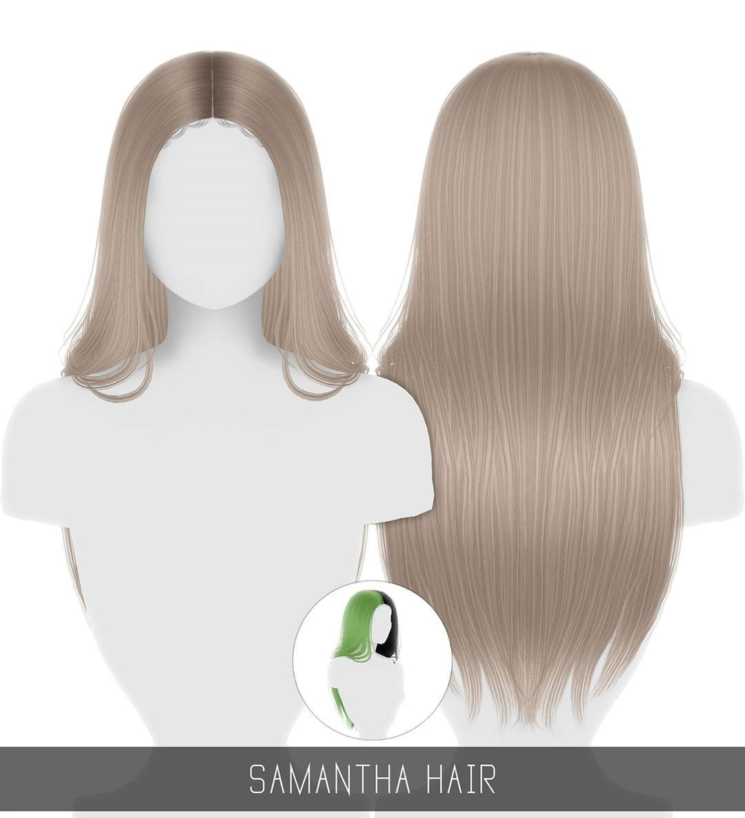 """Photo of Simpliciaty on Instagram: """"? Samantha Hair ? – Sneak peek at content currently available for …"""