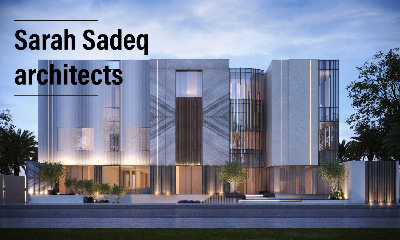 private villa dubai sarah sadeq architects sarah sadeq architectes pinterest architectes. Black Bedroom Furniture Sets. Home Design Ideas