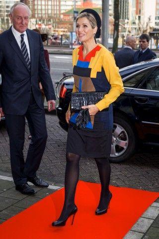 Dutch Queen Maxima attends Prix de Rome in 2015 in Amsterdam, The Netherlands, 17 December 2015.