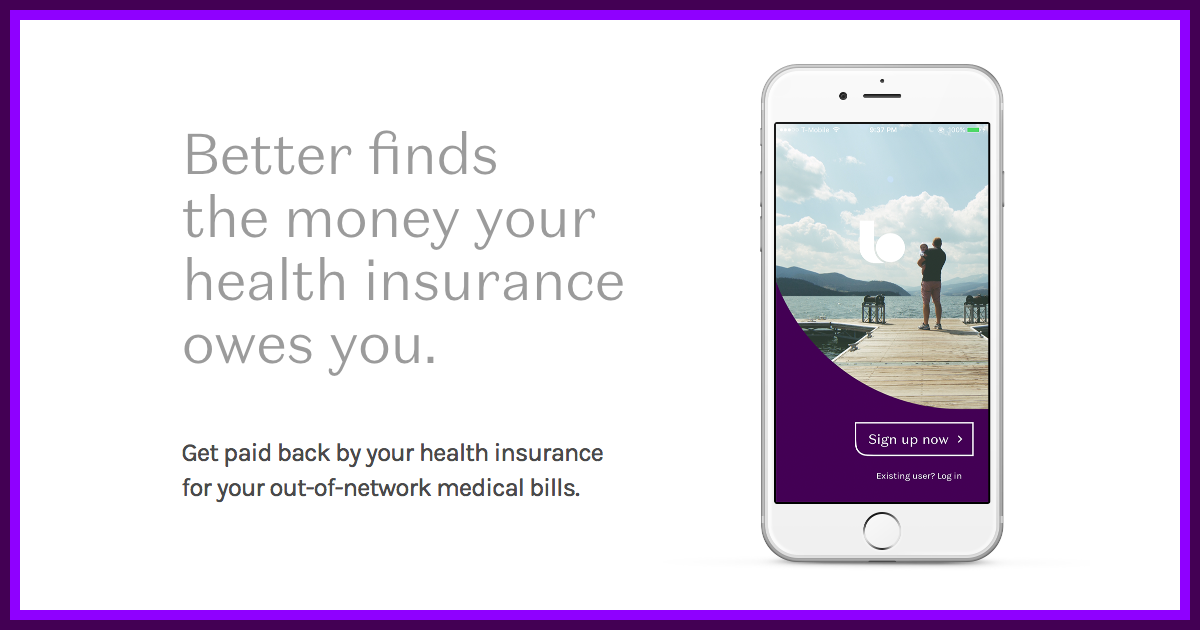 Better Better finds the money your health insurance owes