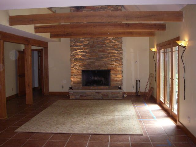stone fire place - town and country shuffle blog Future home