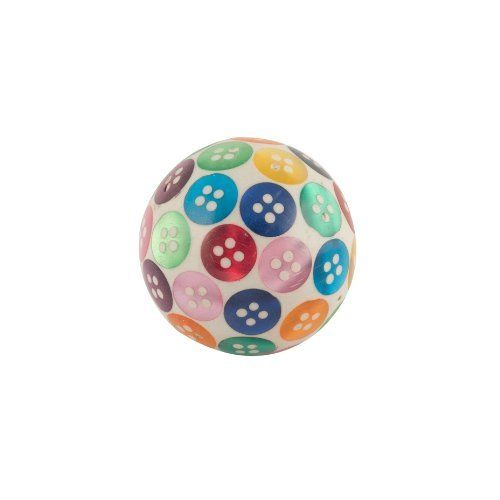 Bombay Duck - Spotty Buttons Round Ball Door Knob - Multicolour by ...