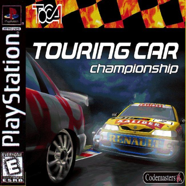 Comprar Jogos Ps 2 Xbox 360 Dvd Xbox360 Playstation 2 Ps2: Jogo TOCA Touring Car Championship Para PlayStation PSX