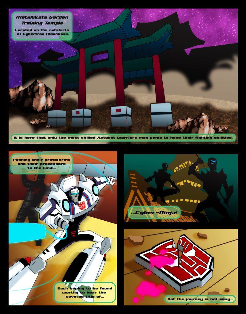 Tfa Origins Prowl Page 1 By Greenleafcm Dreamcatcher S Old