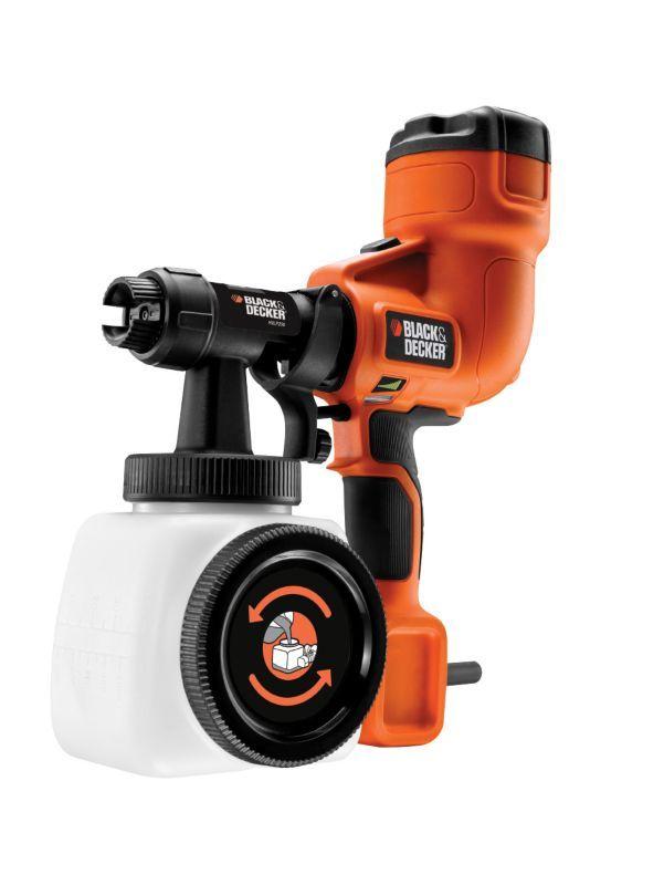 Powered Paint Sprayer 5035048340783 35 Quid Could Make Short Work Of Kitchen Cabinet Fronts Black Decker Paint Sprayer Decker