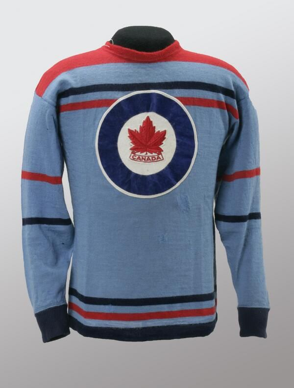 jersey of gold-medal RCAF Flyers hockey team f8a2710c720