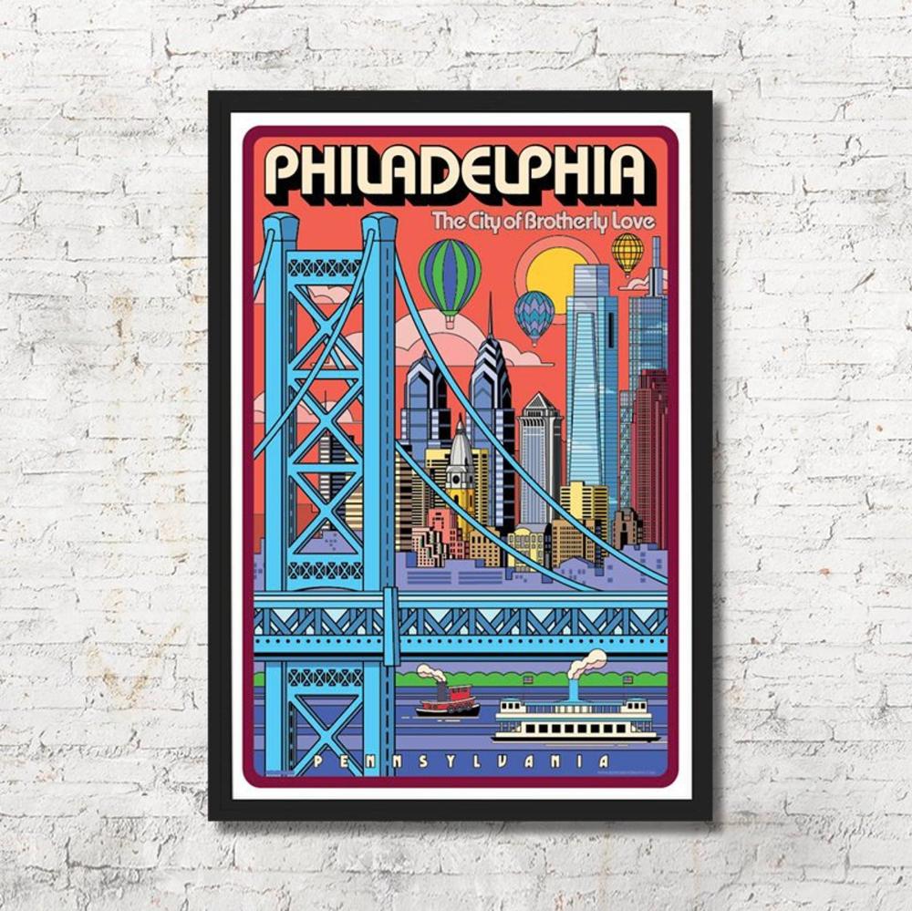 Philadelphia Poster Philadelphia Wall Art Philadelphia Art Etsy In 2020 Philadelphia Wall Art Philadelphia Art Philadelphia Poster