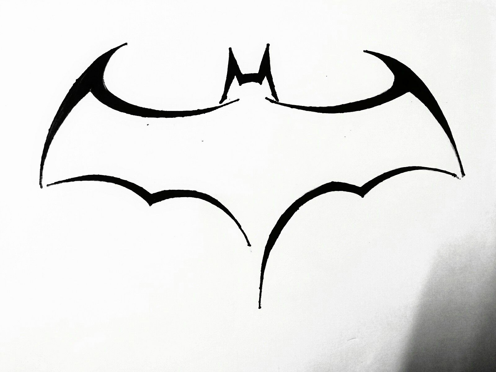 Batman Logo Tattoos Pinte