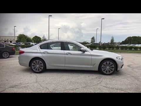 2017 BMW 5 Series Kissimmee Clermont Orlando FL G896683 #FieldsBMW #Orlando #Florida